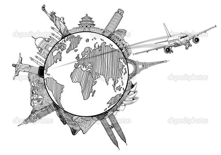 Resultado de imagen para dibujo del viajes