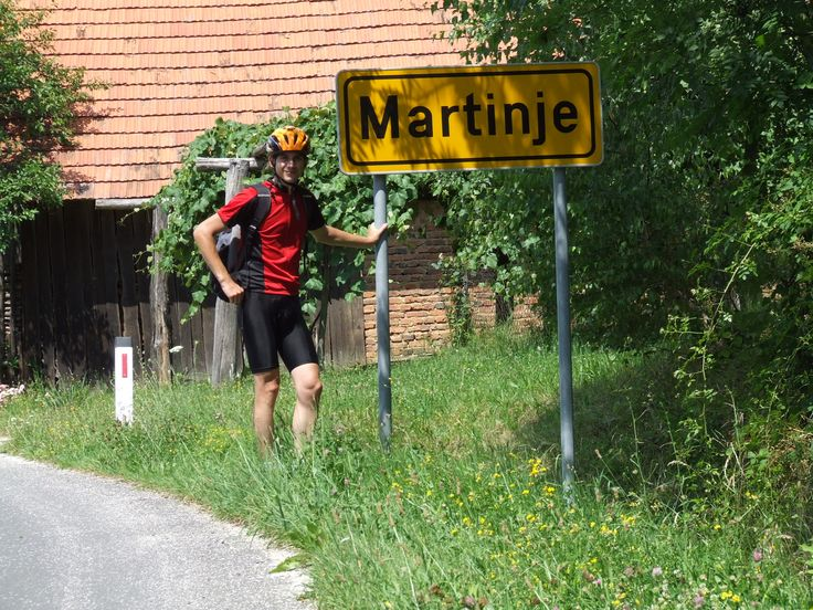 Weirdly, this sign was renamed only in a few months later to Martinje-Trdkova, so I feel lucky I had the chance to catch it in its old form (Slovenia, 2008)