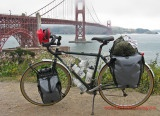 Fully Loaded Touring Bicycles... a gallery. So hot!