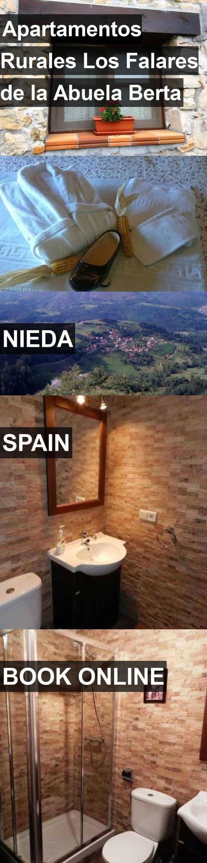 Hotel Apartamentos Rurales Los Falares de la Abuela Berta in Nieda, Spain. For more information, photos, reviews and best prices please follow the link. #Spain #Nieda #travel #vacation #hotel