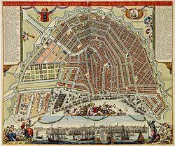 Uitleg van Amsterdam in de 17e eeuw - Wikipedia