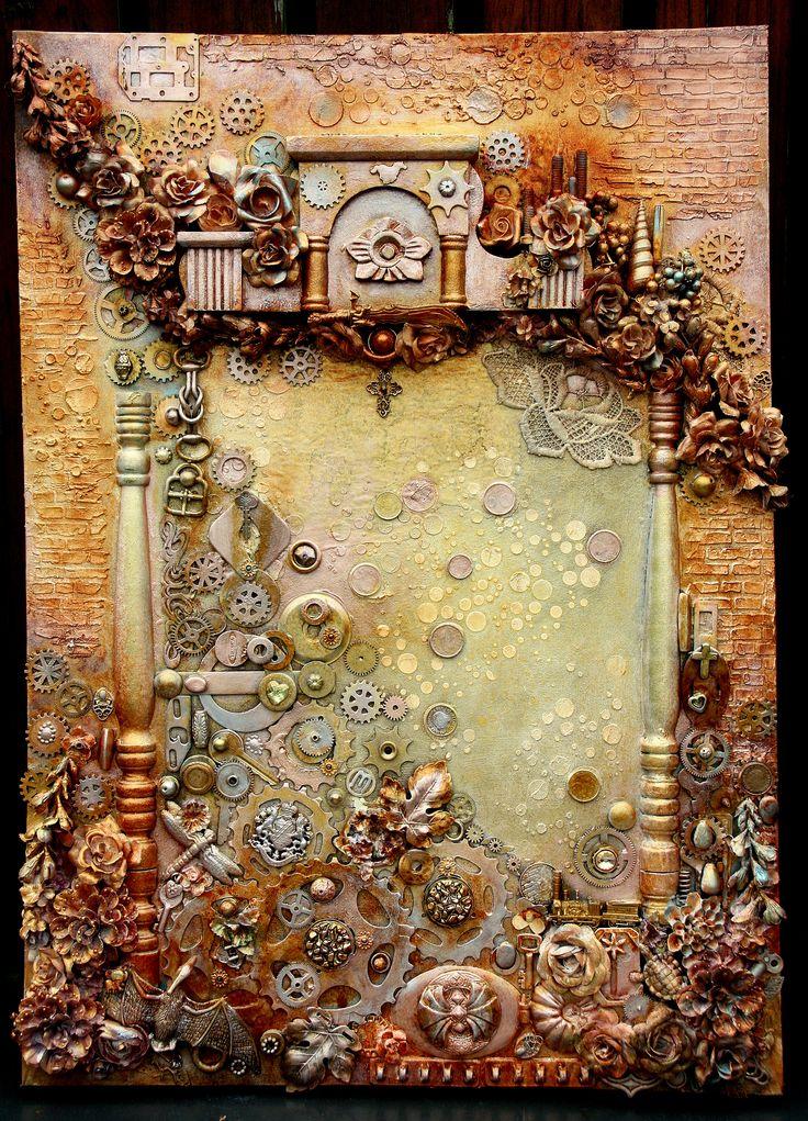 Steampunk made by Irene Wijnands Porebski