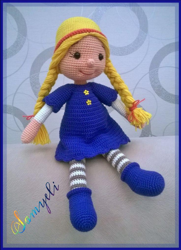Biz ismini ne koyarız bilmiyorum ama tinymini nin Olivia Doll'unu ördük 😉