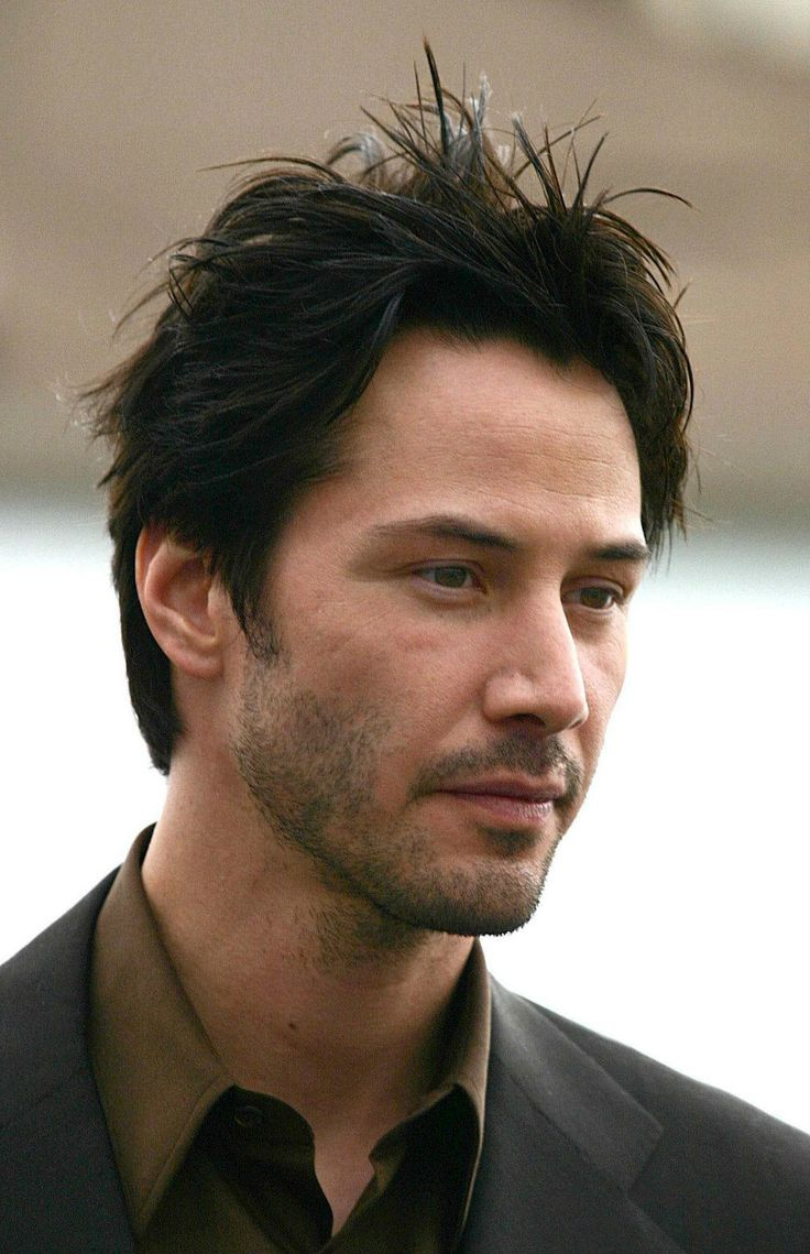 how to cut hair like keanu reeves