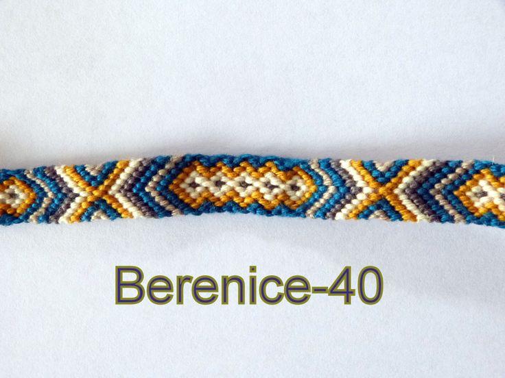 Bracelet br silien motif bleu canard et jaune bracelets for Bleu canard fonce