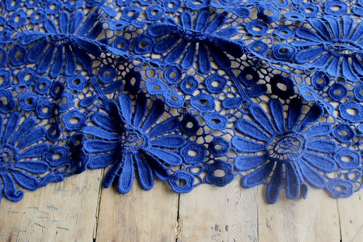 Magnificent New Spring Lace from the fabric store