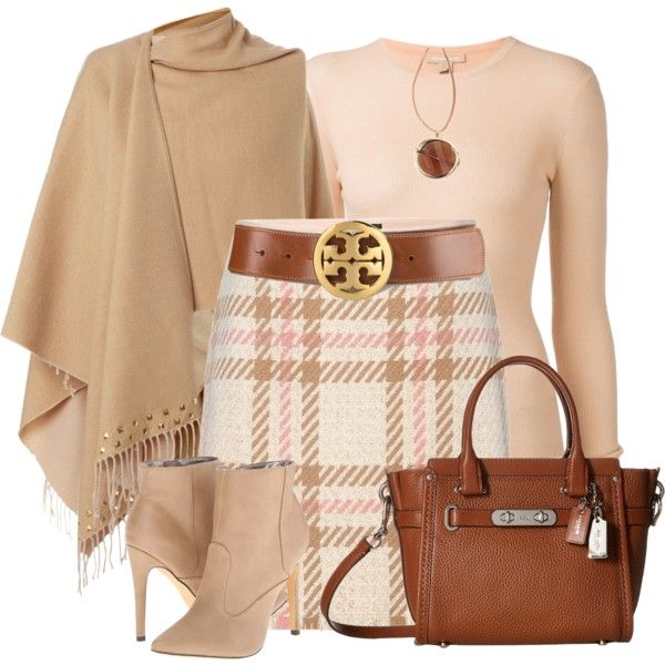 cute fall outfit.  just need a chunkier heel instead