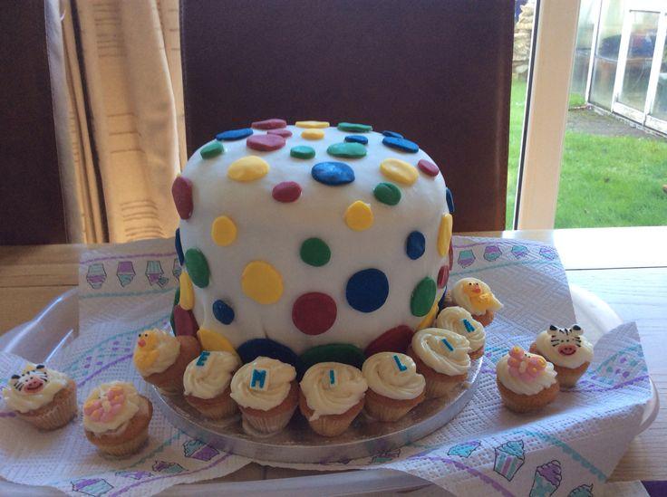 Emilia's 1st birthday cake