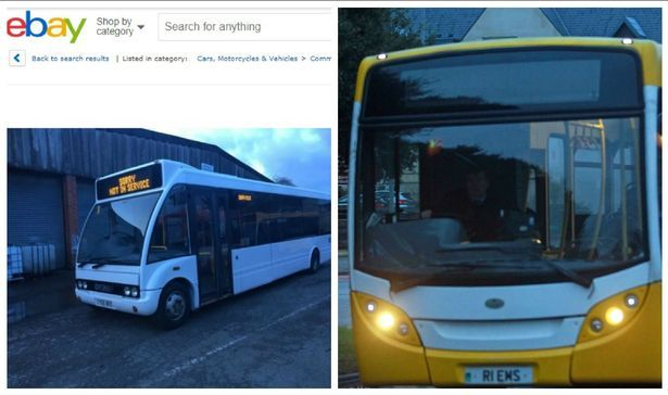 Buses run by a firm stripped of its right to operate routes in North Wales are on sale on eBay. Express Motors has put up its fleet of 28 vehicles on the online auction site. The move came just days after its operations in Gwynedd and Anglesey ceased under orders from the Traffic Commissioner. The firm had its licence to operate revoked by the Traffic Commissioner for Wales.