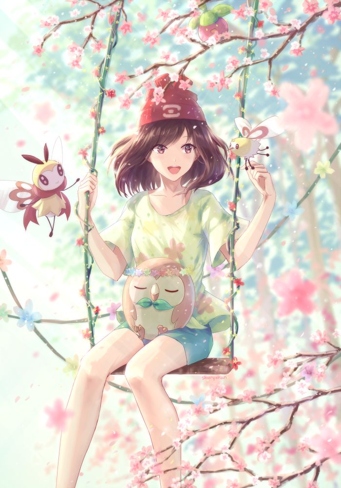 Sweet Scent & Sun and moon #pokemon #anime #fantasy