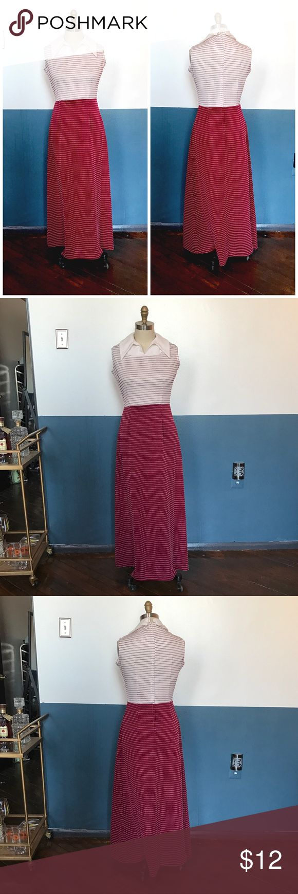 "vintage 60s 70s striped festival hippie maxi dress 38-40"" bust 28-32"" waist 44-46"" hip 55"" long  Perfect with your sandals this summer at your favorite festival. This style can go mod and sleek with black sunglasses or hippie hooray with a flower crown. Vintage Dresses Maxi"