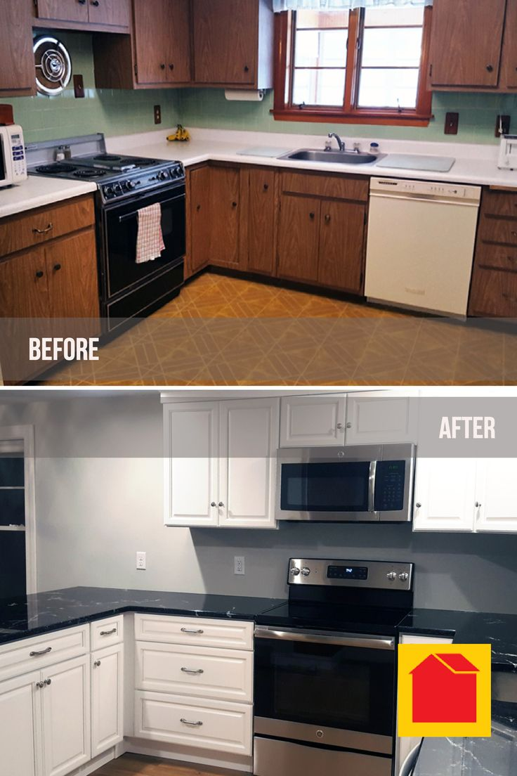 "Monthly #PhotoContest entry from Cathy P. in Auburn, MA. ""We had the guys at the Auburn, MA store design a layout for our #KitchenRedesign and they were great to work with. We ordered Harbor White cabinets and installed ourselves. We purchased #cabinets, hardware, and vinyl plank flooring from the Auburn Store.""  Enter your before and after photos for your chance to win a $100 Bargain Outlet gift card at: http://info.bargain-outlets.com/monthly-photo-contest-2017"