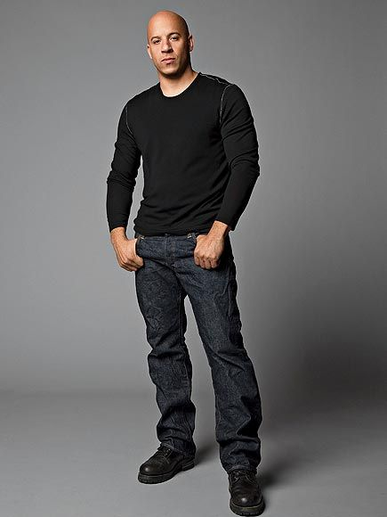 VIN DIESEL - wish he had a role in Magic Mike! I so wish he had been in that movie Oh My would that have been a movie.