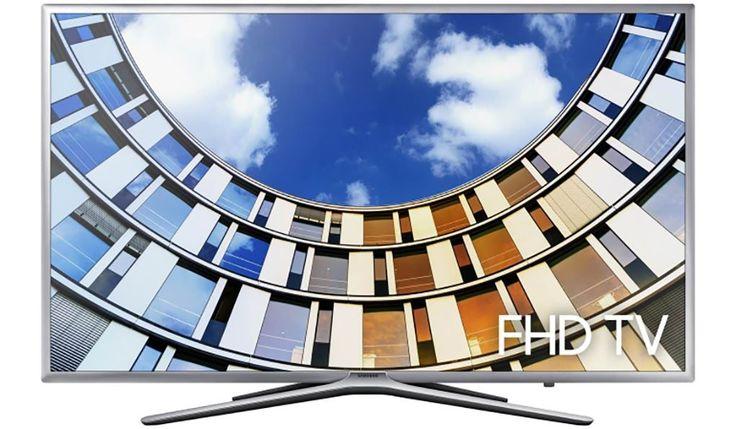 """Samsung UE43M5600  Description: UE43M5600ASXXN: 43"""" Full HD televisie Met de Samsung UE43M5600ASXXN ben je verzekerd van haarscherpe beelden en helder geluid. Ga lekker op de bank zitten en geniet van jouw favoriete serie of film in Full HD kwaliteit. Met een beeldfrequentie van 800 PQI volgen de beelden elkaar vloeiend op zonder haperingen of ruis en de Quad Core processor zorgt voor heldere beelden die van het scherm afspatten. De 43M5600 komt met de handige One Remote Control die al jouw…"""