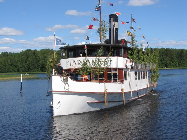 s/s Tarjanne sails from Tampere to Virrat, Finland