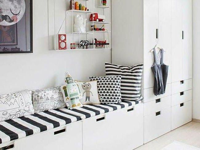 Comenzamos la semana con un post inspirador para los dormitorios de los más peques. Son dormitorios, que por lo general, necesitan gran capacidad de almacenaje para poder recoger juguetes, libros y…