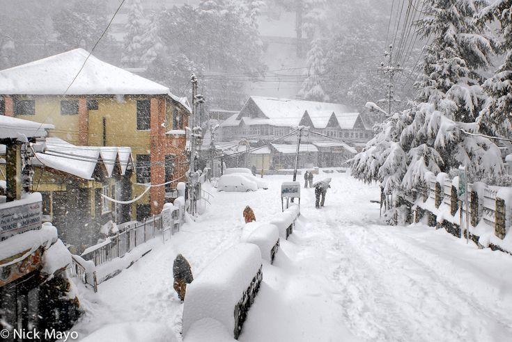 Winter Storm : Dalhousie, Himachal Pradesh, India (2008) : Nick ...