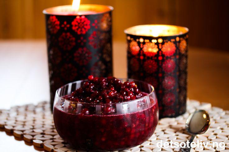 Rørte tyttebær | Det søte liv