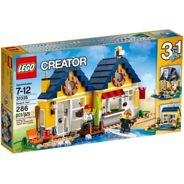 Đồ chơi LEGO 31035 Beach Hut – Ngôi nhà trên bãi biển