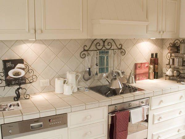 backsplash, Kitchens - French Provincial Kitchens