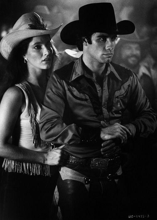 John Travolta with Madolyn Smith; Urban Cowboy (1980)