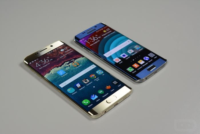 Samsung Galaxy S6 Edge Plus vs Galaxy S6 Edge
