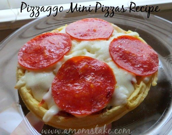 Pizzaggo Mini Pizzas Recipe
