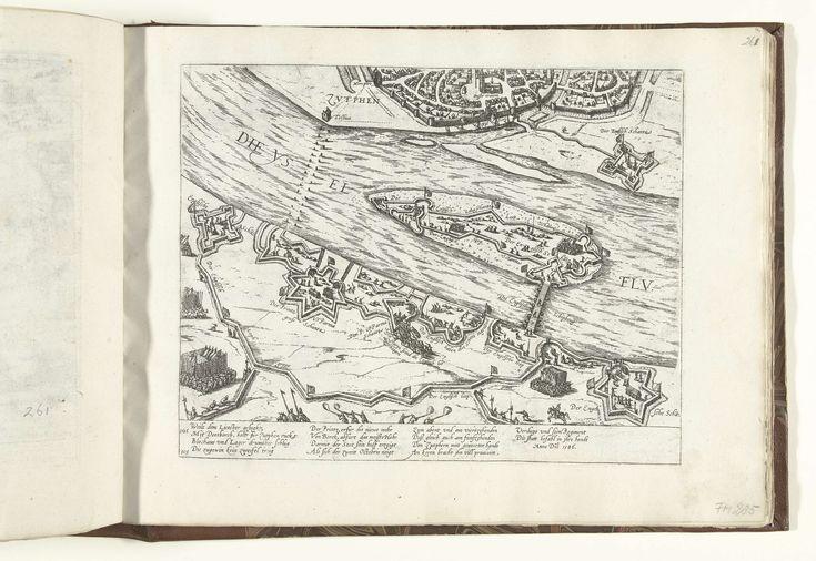 Beleg van Zutphen door Leicester, 1586, Frans Hogenberg, 1586 - 1588