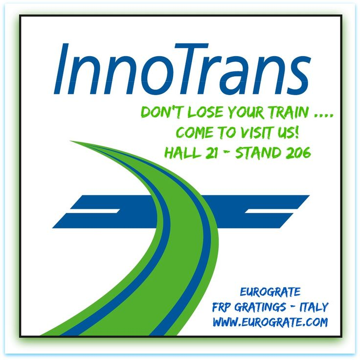 Vieni a trovarci a: InnoTrans - Berlino dal 20 al 23 settembre 2016 - Hall 21 - stand 206 -  Come to visit us: InnoTrans - Berlin from September 20th up to 23rd  Hall 21 - stand 206 THE FUTURE OF MOBILITY