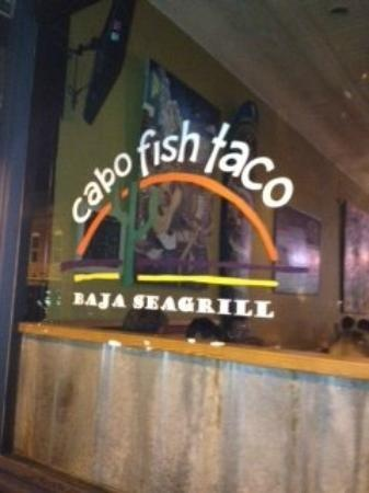 Cabo Fish Taco, NoDa in Charlotte. Excellent tacos and lively atmosphere