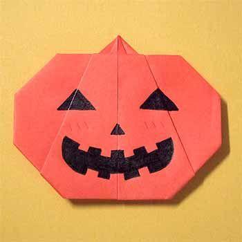 折り紙でハロウィンかぼちゃの折り方!簡単な作り方を紹介 | セツの折り紙処