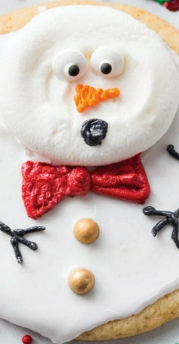 Melted Snowmen Cookies Christmas Joy in 2018 Cookies, Melted