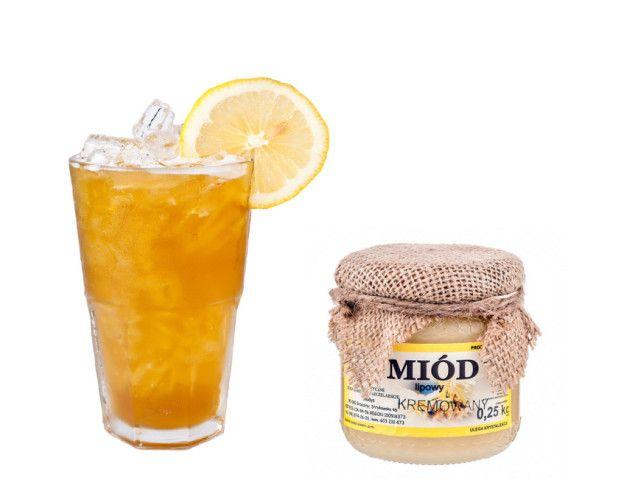 Zdrowy napój z miodem