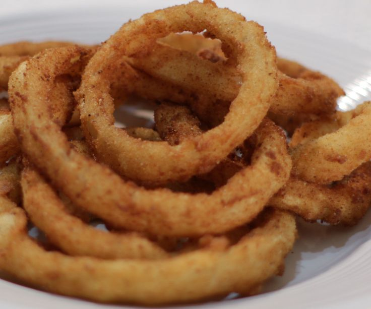 easy amazing onion rings recettes recette. Black Bedroom Furniture Sets. Home Design Ideas