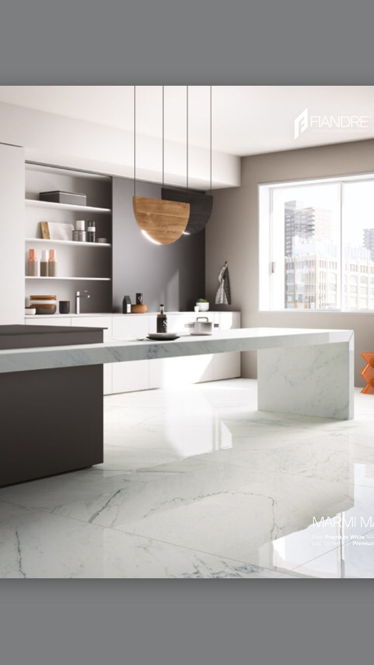 Cocina con piso de m rmol pinterest kitchens for Picas de marmol