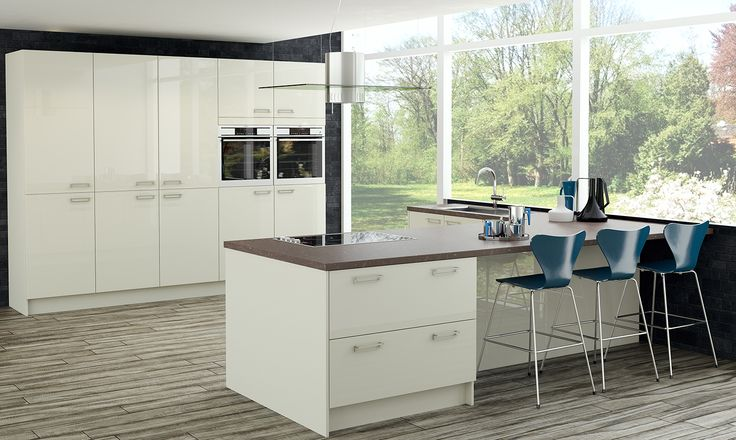 Alta Mussel. Stunning Modern Kitchen Designed to Inspire!  http://www.academyhome.co.uk/products/kitchens/kitchen-ranges/modern