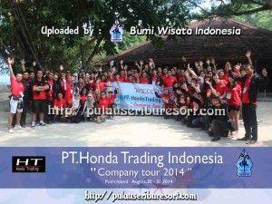 PT Honda Trading Indonesia at Pulau Seribu | Thousand Islands . #pulauseribu #thousandislands #honda #event