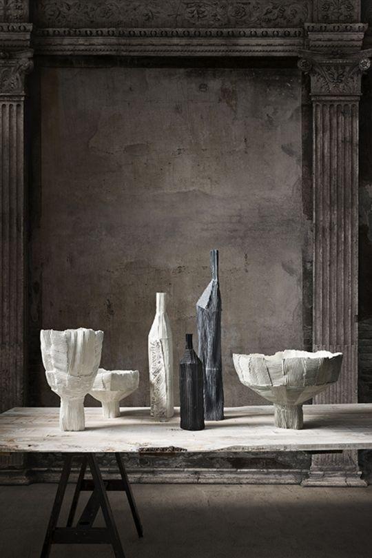 ceramics by Paola Paronetto Fanuli showroom in Melbourne