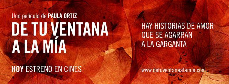 De tu ventana a la mía de Paula Ortiz (2011) Cartel diseñado por Jesús Bosqued para el estreno en toda España el 9 de marzo de 2012.