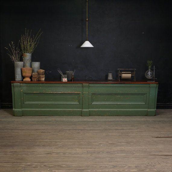 Antique General Store Mercantile Counter by DailyMemorandum, $2600.00