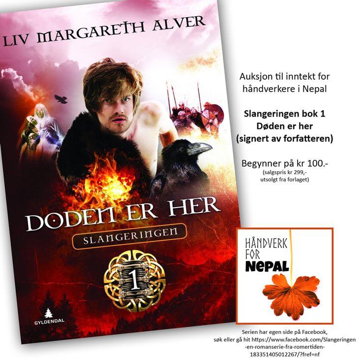 Forfatter Liv Alver gir oss en bok. Den får du ikke tak i andre steder!