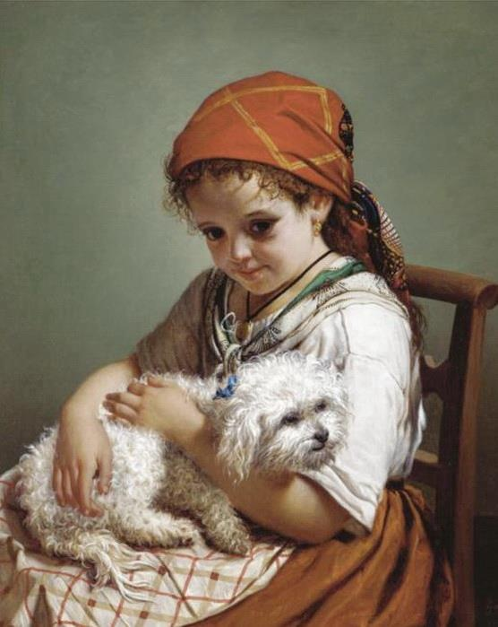 Portrait of a Dog - Giovacchino Gamberini