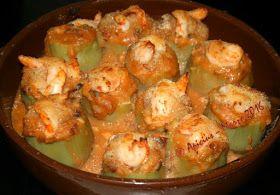 Salsa monglás de langostinos para relleno de alcachofas
