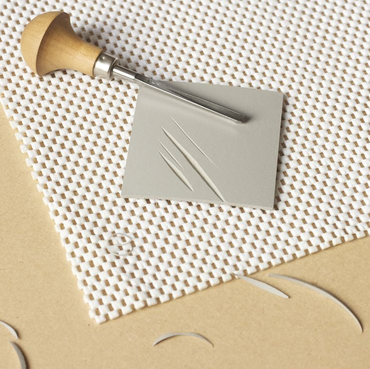 Here are my top ten tips for linocutting. Practise first Before you go straight into carving a design make a test print on a small piece of lino. Practise making a range of marks. Don't worry about making a recognisable image, just play around and make as many different shaped cuts as you can – …