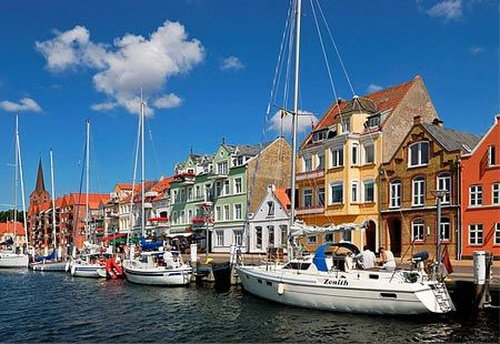 Skagen, Denmark- We went to this little coastal city to the tip of Denmark where 2 oceans meet together!