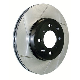Cryo treated brake rotors improve rotor strength, making them harder to warp. A must if you're putting a lot of load on your brakes: http://www.autoanything.com/brakes/61A2723A0A0.aspx