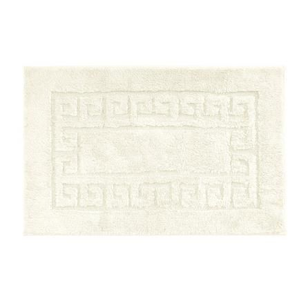 Dunelm Luxury Cotton Non Slip Bath Mat Cream Bath Mat