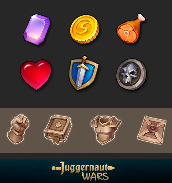 JW gui icons 2, Alexey Kutyrev on ArtStation at…