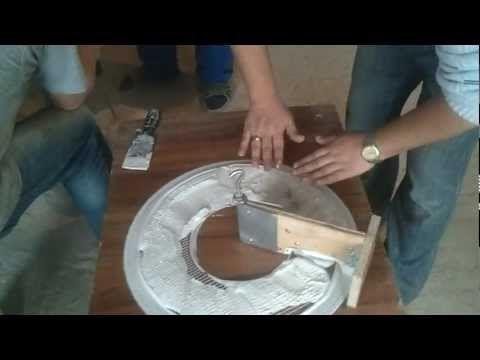 Лепнина из гипса своими руками - изготовление гипсовой лепнины (+фото)