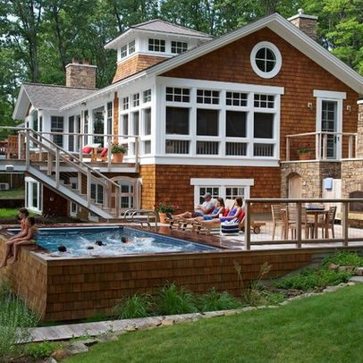 43 Best Images About Large Above Ground Pools On Pinterest